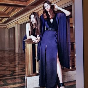 Halston Heritage Kaftan Maxi Dress